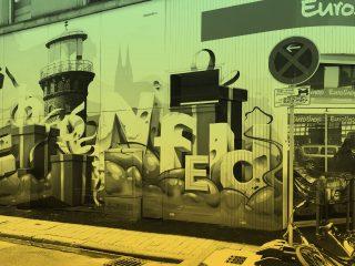 GRAFFITIAUFTRAG IN KÖLN EHRENFELD